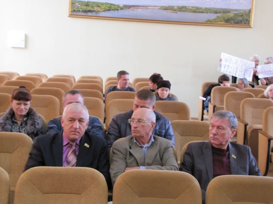 Мелитопольские депутаты скандалили, но вето мэра не преодолели (фото, видео), фото-6