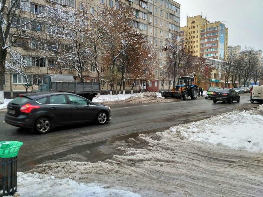 Уборка снега в Вишневом, фото-3