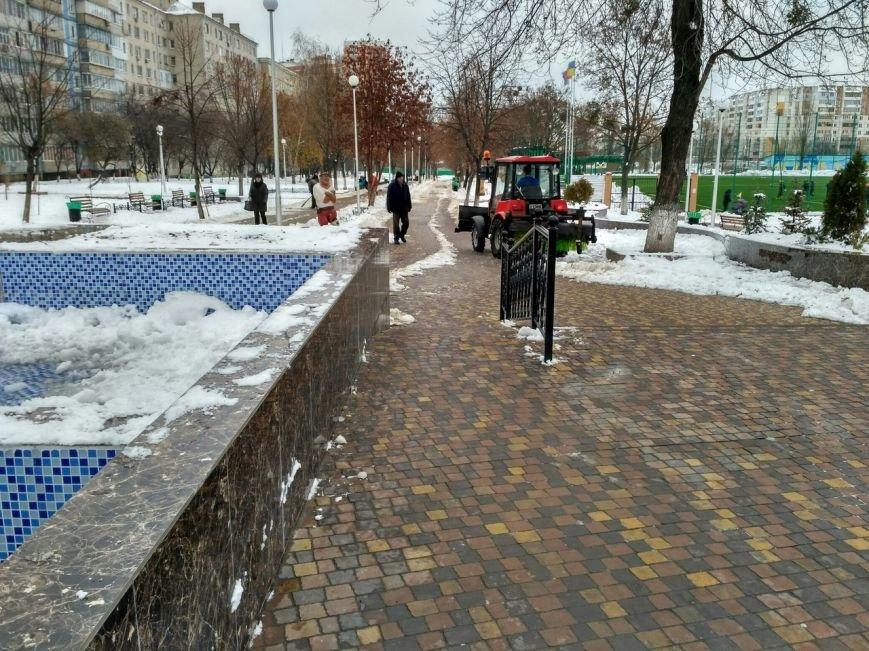 Уборка снега в Вишневом, фото-4