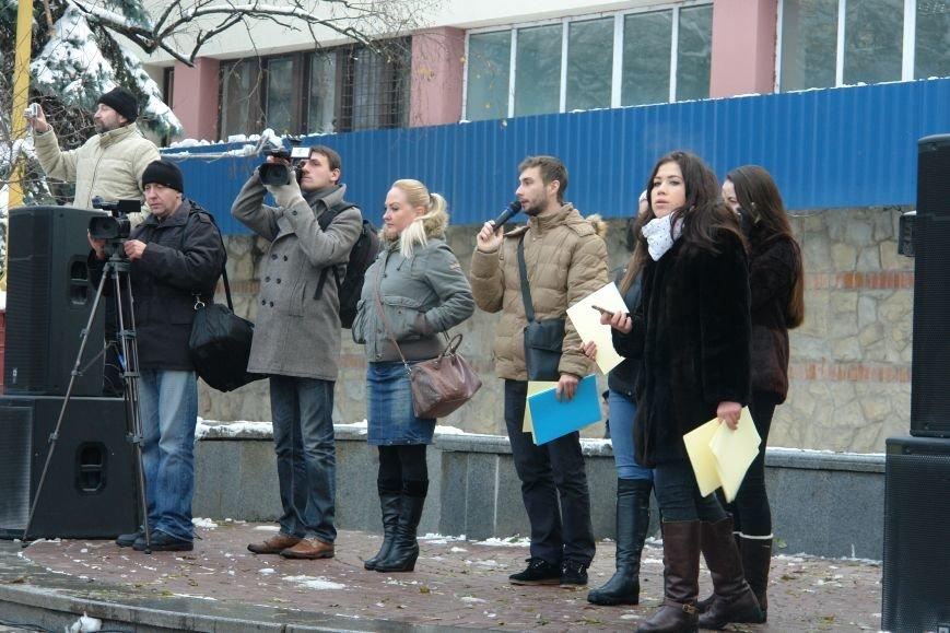 Ми в силах змінити все. На центральній площі міста франківські студенти провели флешмоб (ФОТО+ВІДЕО), фото-2