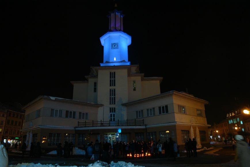 Франківська ратуша засвітилася по-новому (ФОТОЗВІТ), фото-19