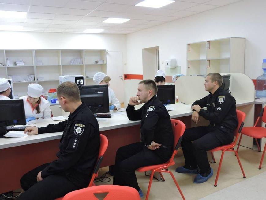 Сумские патрульные сдали кровь для онкобольных детей (ФОТО), фото-1