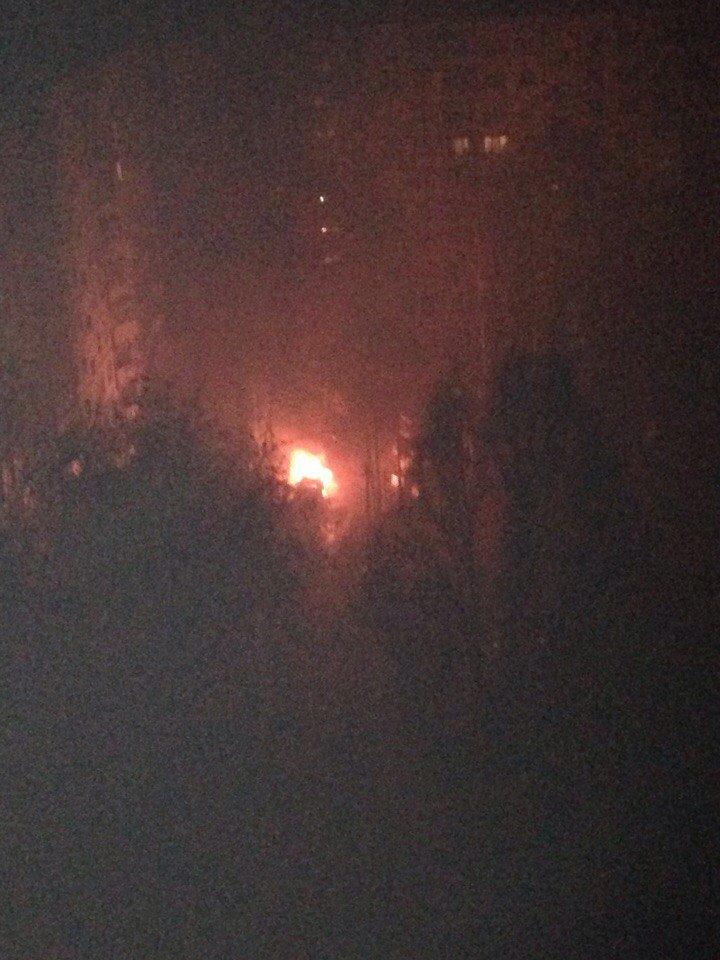 На Салтовке сгорела иномарка: полиция расследует поджог (ФОТО), фото-2