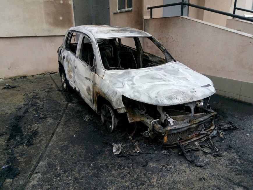 Ночью в Сумах сгорели 2 автомобиля (ФОТО), фото-2