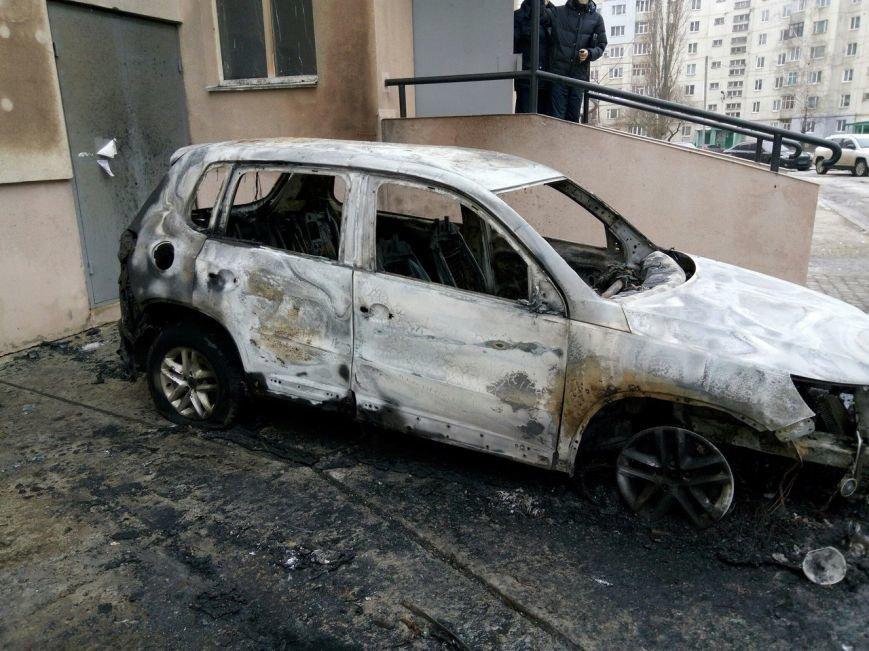 Ночью в Сумах сгорели 2 автомобиля (ФОТО), фото-1