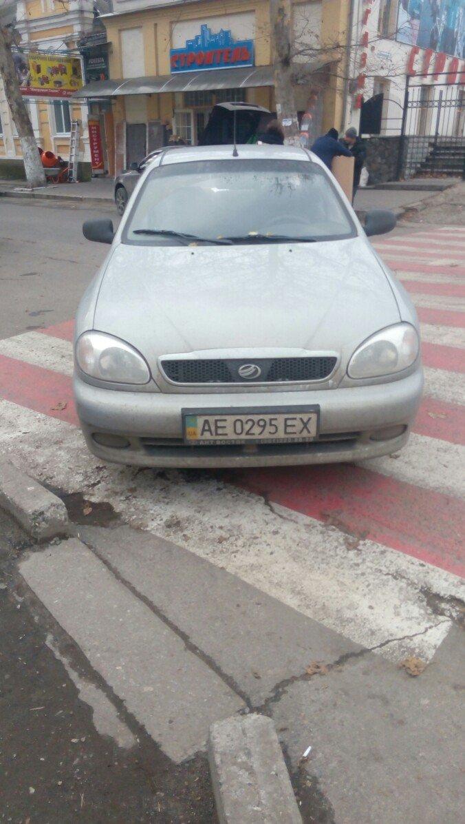 """Мелитопольские """"гении парковки"""" полиции не боятся, фото-1"""