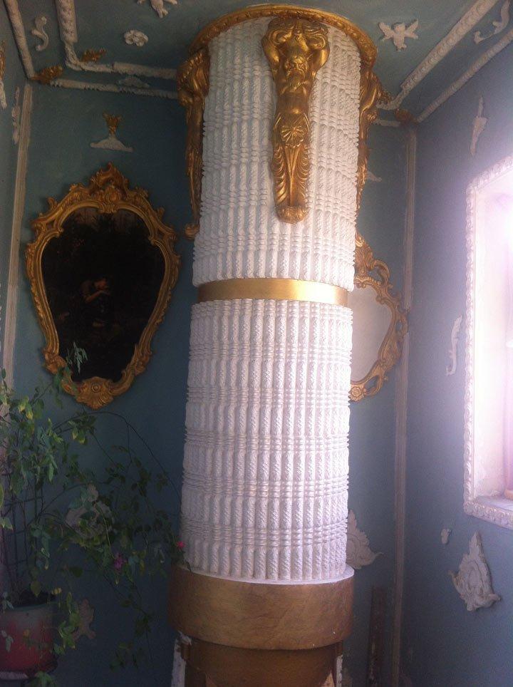 Ідея для франківських домоуправителів. Або як обісцяний під'їзд перетворити на мистецтво. Фото, фото-3