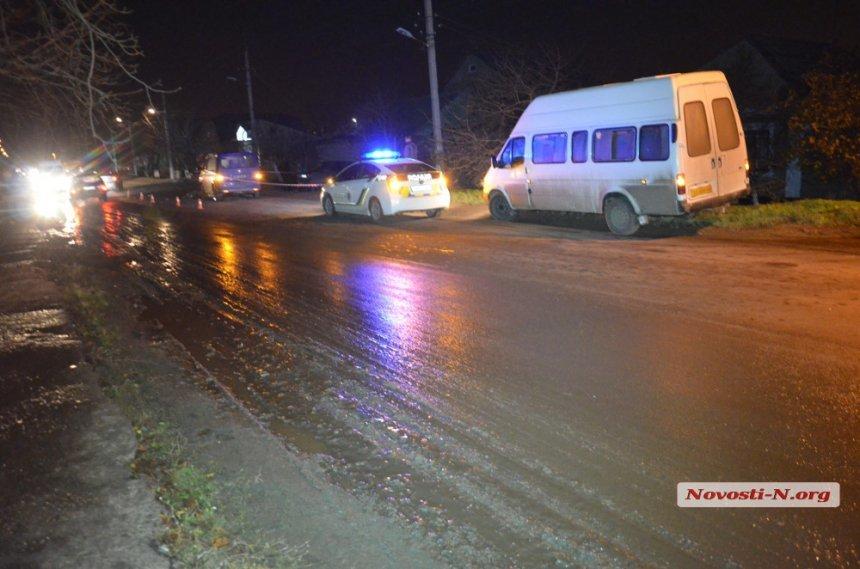В Николаеве микроавтобус сбил насмерть пожилую женщину (ФОТО), фото-2