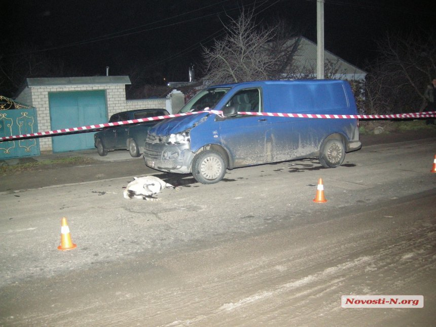 В Николаеве микроавтобус сбил насмерть пожилую женщину (ФОТО), фото-9
