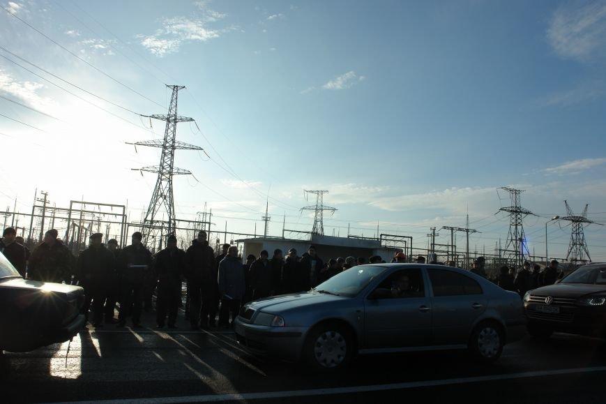 Мітингувальники з БуТЕС на годину перекрили львівське шосе (ФОТОРЕПОРТАЖ), фото-22