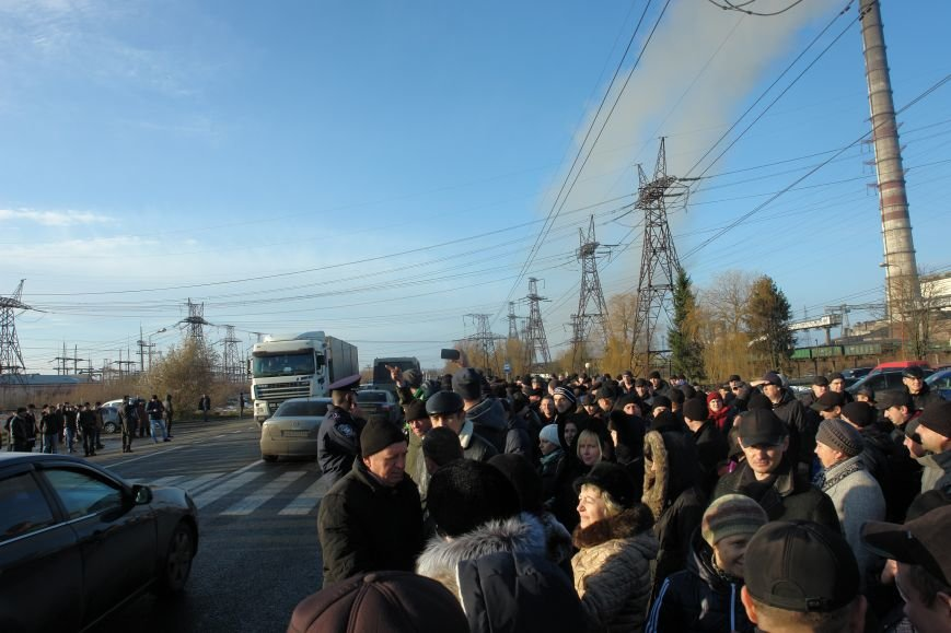 Мітингувальники з БуТЕС на годину перекрили львівське шосе (ФОТОРЕПОРТАЖ), фото-20