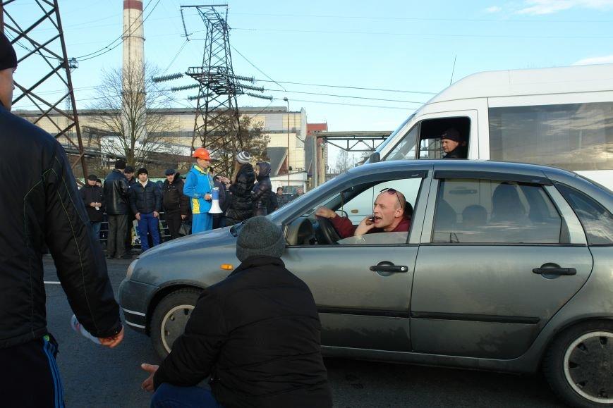 Мітингувальники з БуТЕС на годину перекрили львівське шосе (ФОТОРЕПОРТАЖ), фото-8