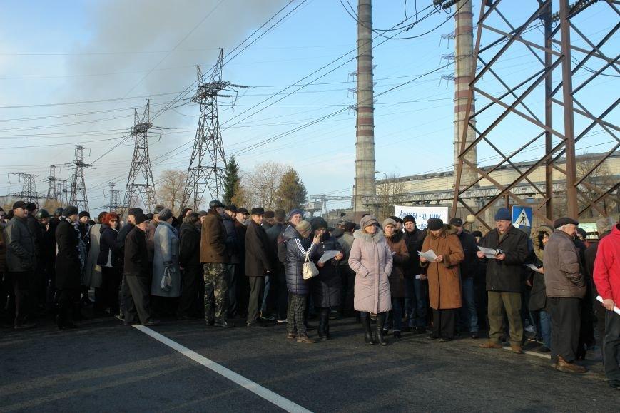Мітингувальники з БуТЕС на годину перекрили львівське шосе (ФОТОРЕПОРТАЖ), фото-9