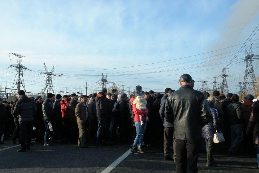 Мітингувальники з БуТЕС на годину перекрили львівське шосе (ФОТОРЕПОРТАЖ), фото-13