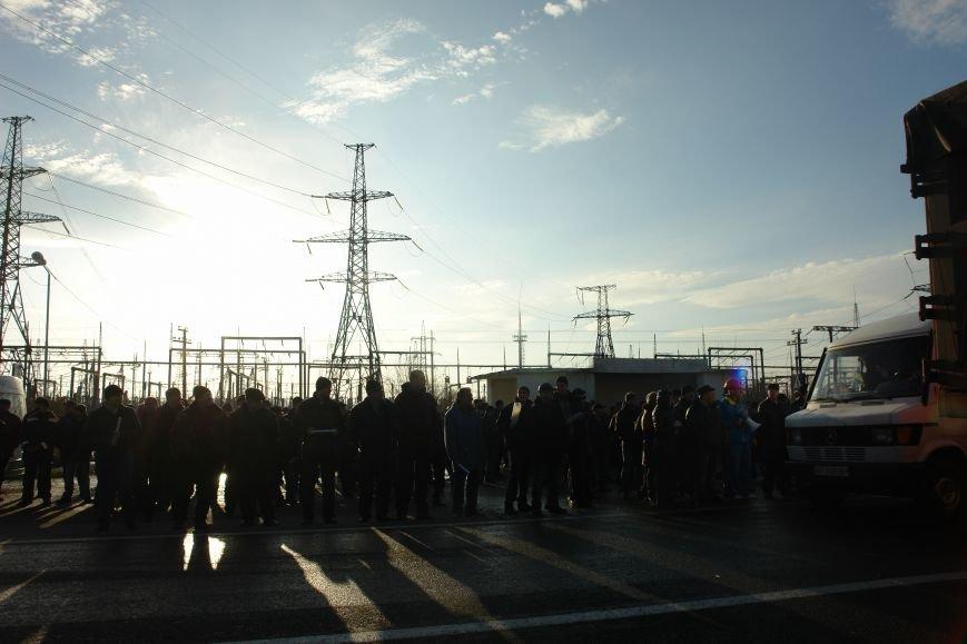Мітингувальники з БуТЕС на годину перекрили львівське шосе (ФОТОРЕПОРТАЖ), фото-21