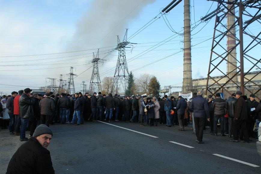 Мітингувальники з БуТЕС на годину перекрили львівське шосе (ФОТОРЕПОРТАЖ), фото-6