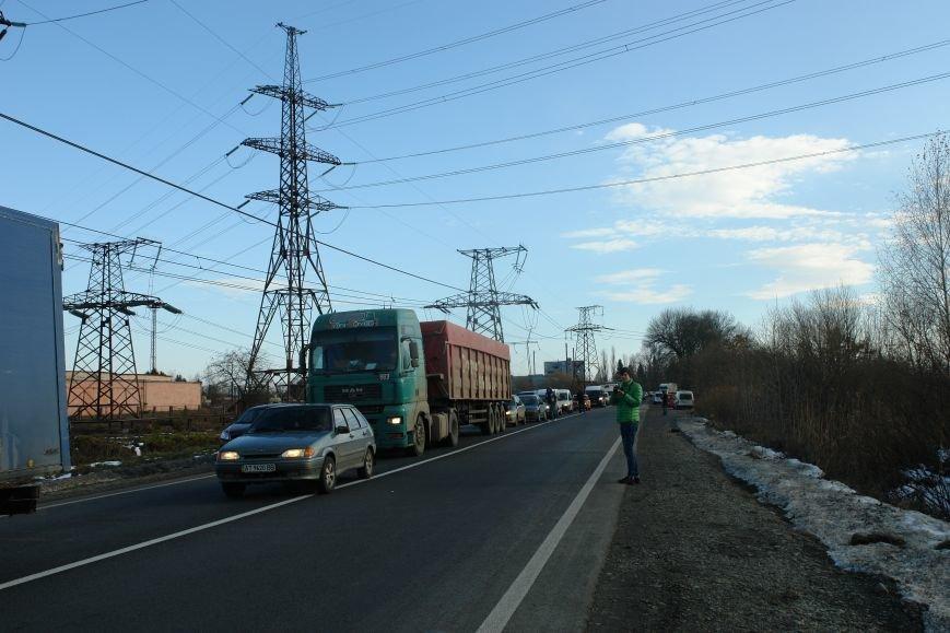 Мітингувальники з БуТЕС на годину перекрили львівське шосе (ФОТОРЕПОРТАЖ), фото-4