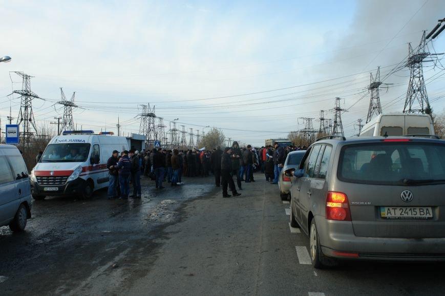 Мітингувальники з БуТЕС на годину перекрили львівське шосе (ФОТОРЕПОРТАЖ), фото-5