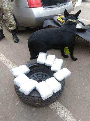 """НА КПВВ """"Майорск"""" обнаружили восемь килограммов марихуаны (ФОТО), фото-1"""