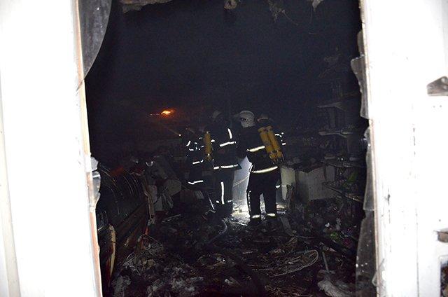 """В Николаеве спасатели ликвидировали пожар в магазине """"Обжора"""" (ФОТО), фото-2"""