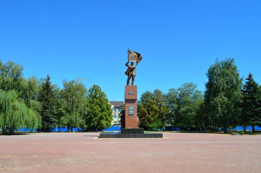 памятник новый