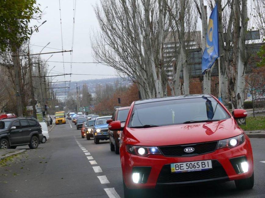 Николаевские патрульные приняли участие в автопробеге, посвященном памяти погибших в ДТП (ФОТО), фото-6