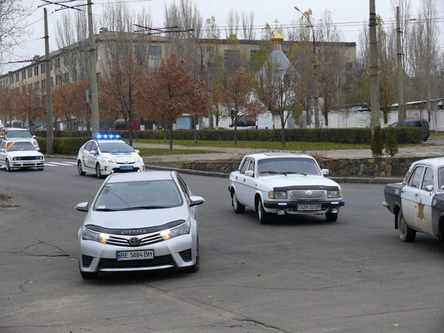 Николаевские патрульные приняли участие в автопробеге, посвященном памяти погибших в ДТП (ФОТО), фото-4