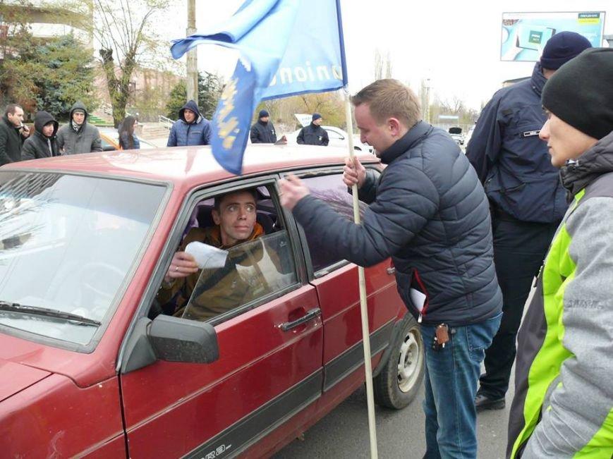 Николаевские патрульные приняли участие в автопробеге, посвященном памяти погибших в ДТП (ФОТО), фото-1