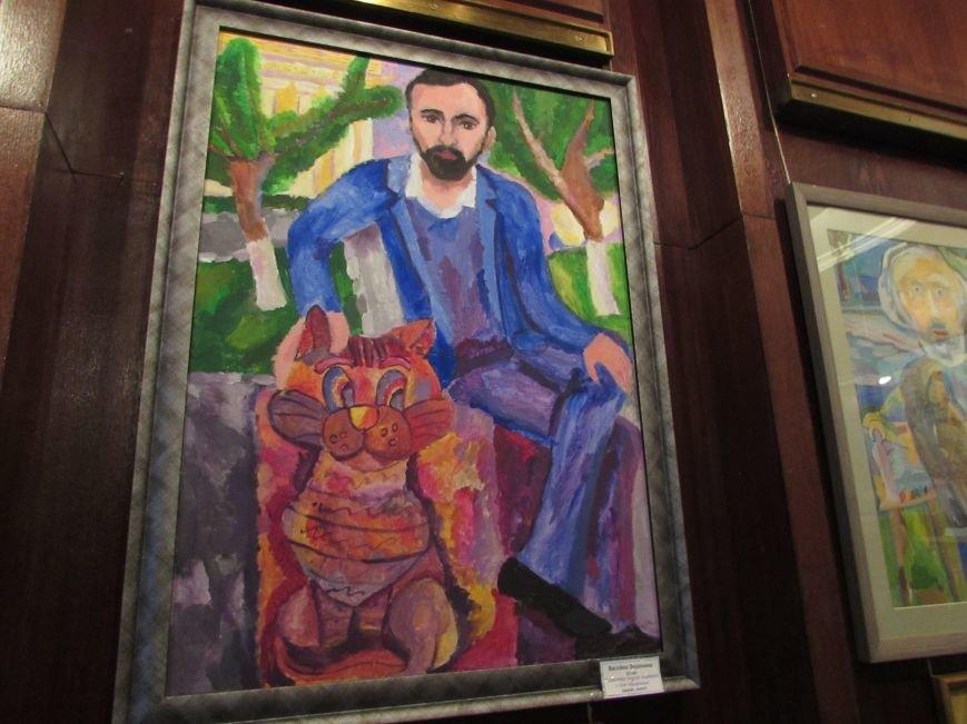 Юные художники составили свой рейтинг известных саратовцев, фото-3