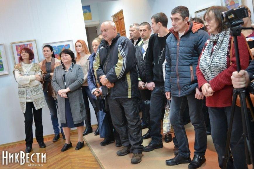 В Миколаєві відкрилася персональна виставка 8-річної конотопчанки - ЗМІ, фото-1