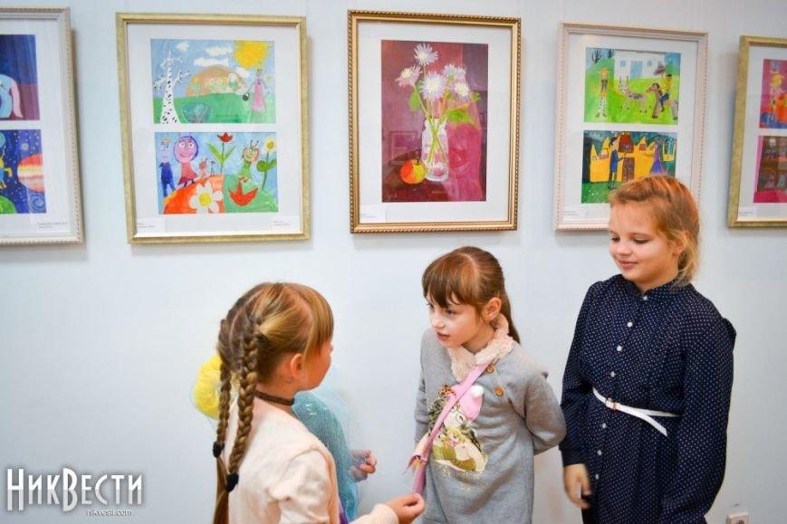 В Миколаєві відкрилася персональна виставка 8-річної конотопчанки - ЗМІ, фото-3