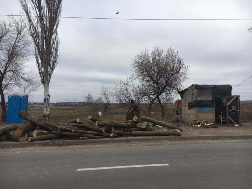 В Мариуполе с блокпостов исчезли модули, которые установил Саакашвили (ФОТО), фото-4