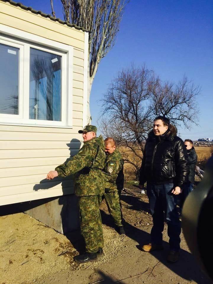 В Мариуполе с блокпостов исчезли модули, которые установил Саакашвили (ФОТО), фото-5