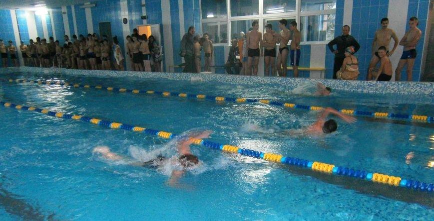 Школьники Бахмута приняли участие в первенстве города по плаванию, фото-1