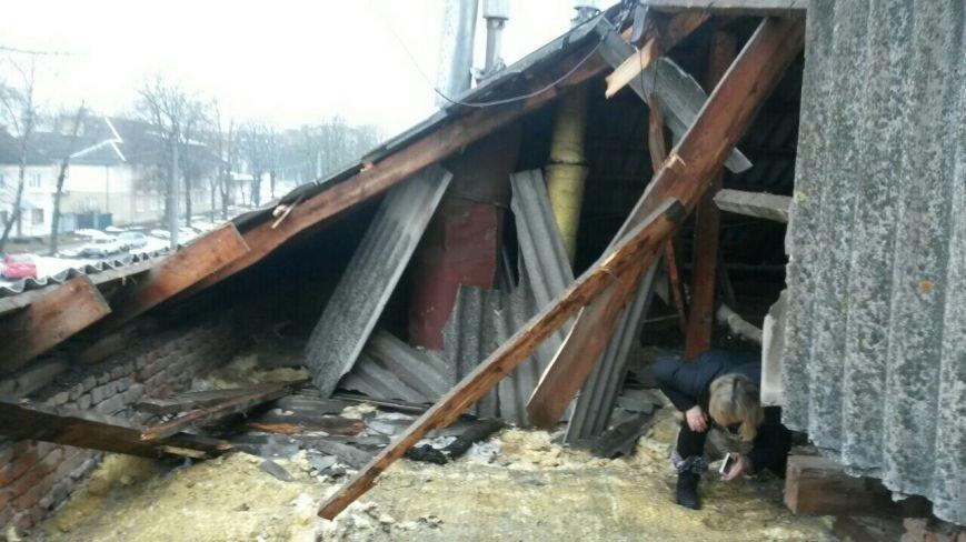 У Тернополі через сніг обвалився дах в житловому будинку (Фото), фото-3