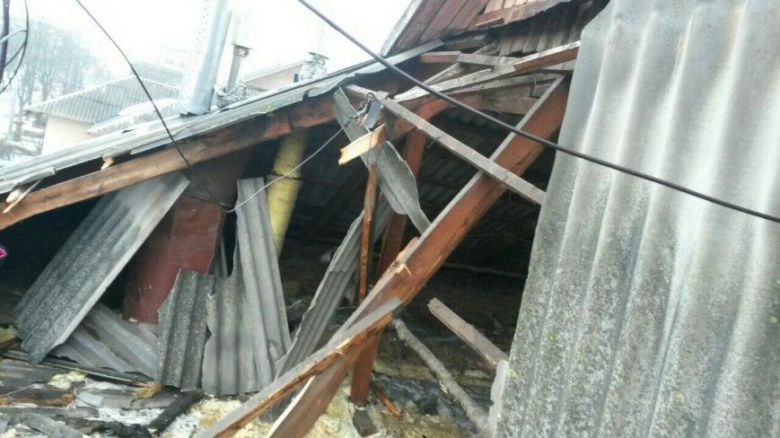 У Тернополі через сніг обвалився дах в житловому будинку (Фото), фото-5