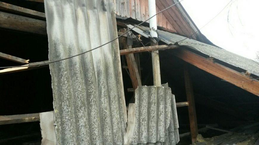У Тернополі через сніг обвалився дах в житловому будинку (Фото), фото-2
