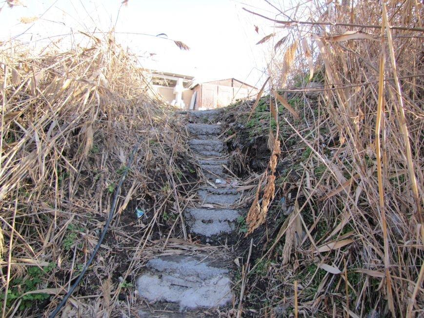 Журналисты нашли, кто загрязняет Песчанский ручей в Мелитополе  (фото), фото-5