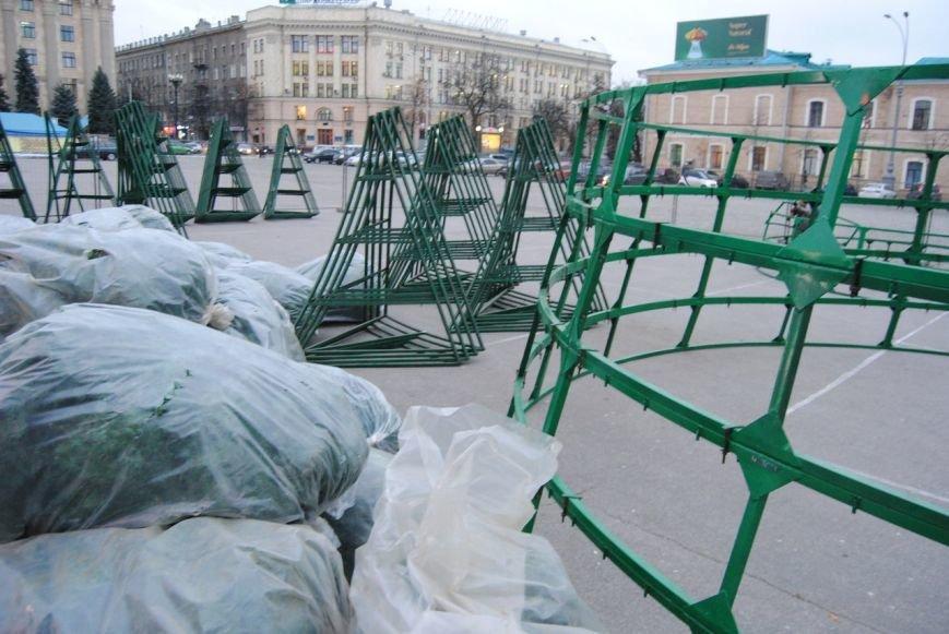Световые орнаменты и огромные шары: какой будет главная елка Харькова в этом году, фото-1