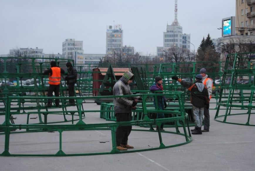 Световые орнаменты и огромные шары: какой будет главная елка Харькова в этом году, фото-4