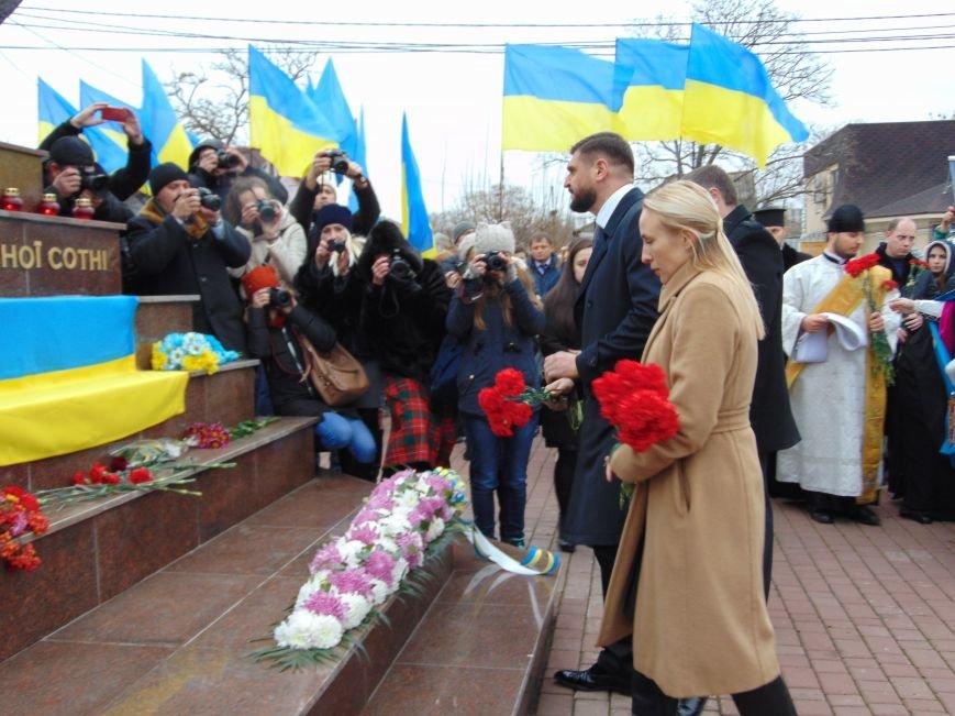 Третья годовщина Майдана: в Николаеве почтили память Небесной сотни (ФОТО), фото-7