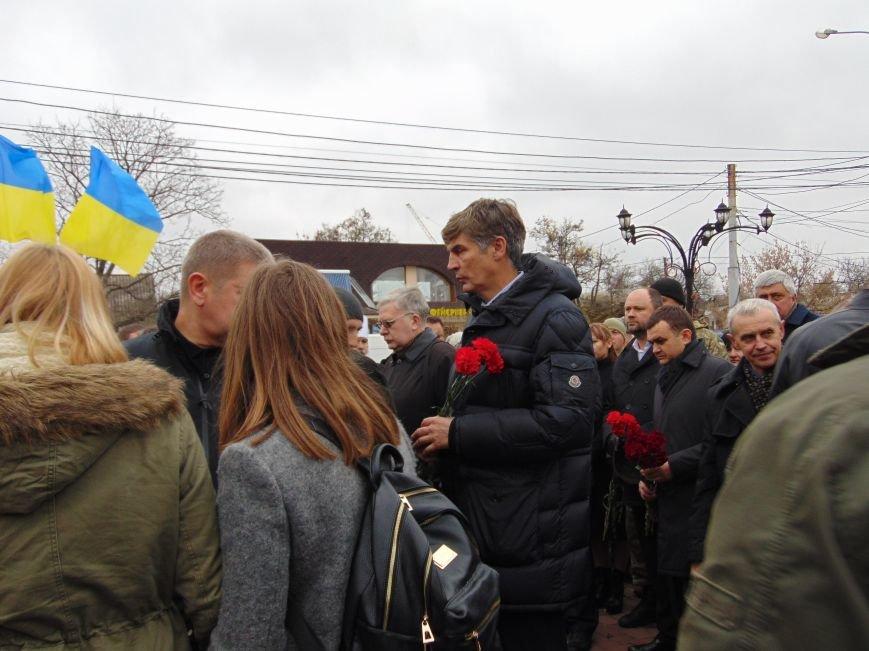 Третья годовщина Майдана: в Николаеве почтили память Небесной сотни (ФОТО), фото-9
