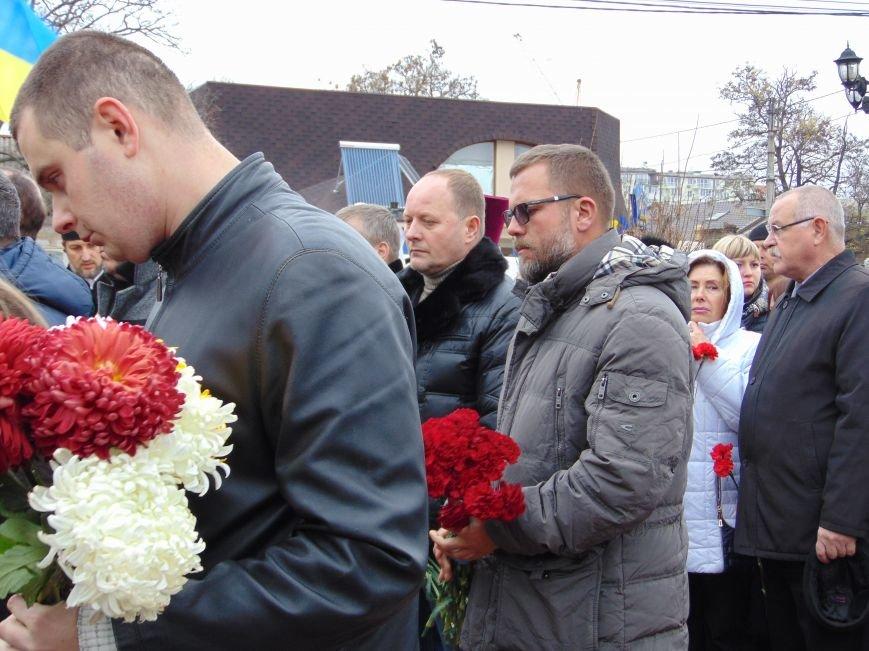 Третья годовщина Майдана: в Николаеве почтили память Небесной сотни (ФОТО), фото-8