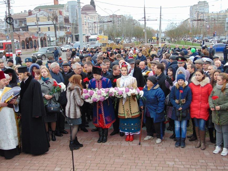 Третья годовщина Майдана: в Николаеве почтили память Небесной сотни (ФОТО), фото-1