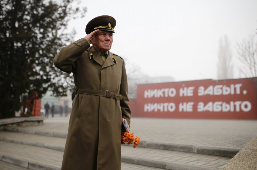 В Симферополе проводили в последний путь крымского солдата, погибшего 73 года назад под Ленинградом (ФОТО), фото-9