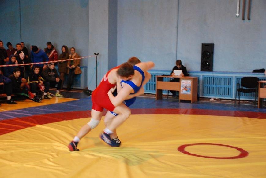 В Мелитополе соревновались лучшие борцы Украины, фото-3