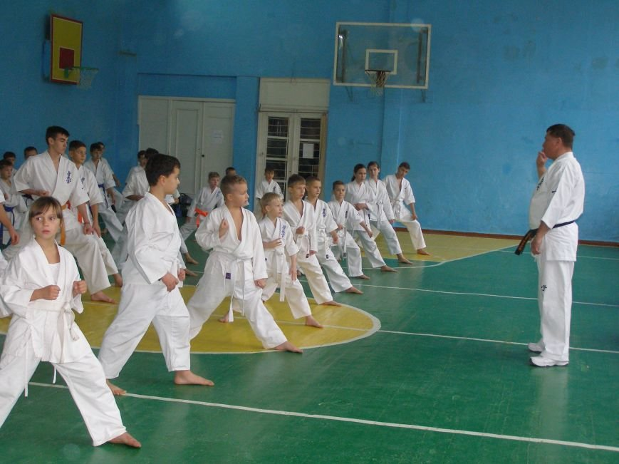 Спортсмены сдали экзамен президенту Национальной федерации киокушин каратэ Украины, фото-1