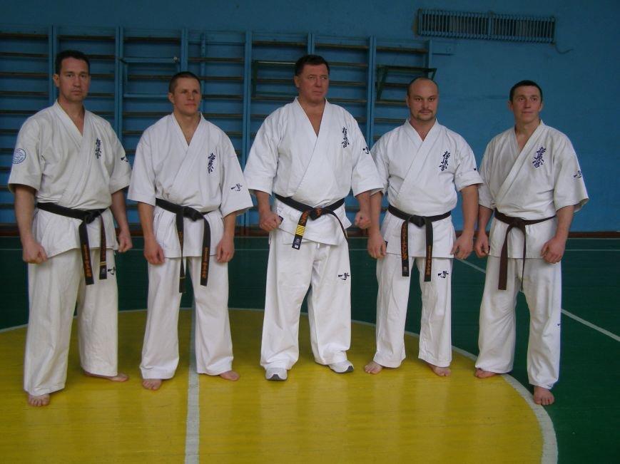 Спортсмены сдали экзамен президенту Национальной федерации киокушин каратэ Украины, фото-2