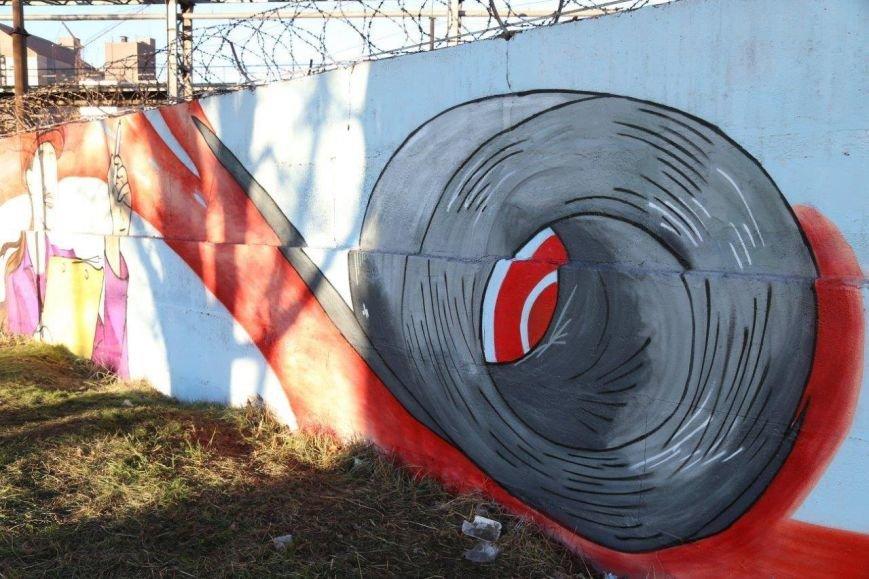 На заборе мариупольского меткомбината появится шедевр (ФОТО), фото-3