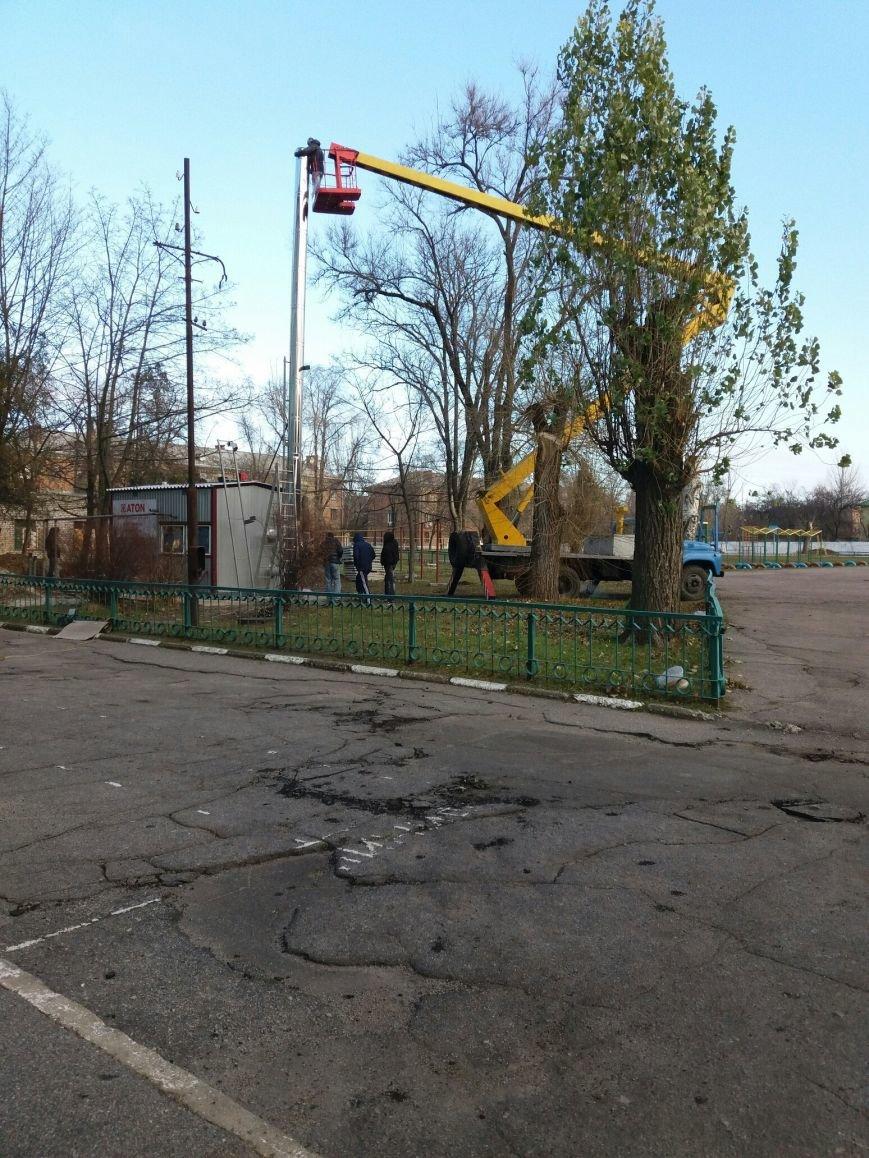 В 13-ой школе Никополя начато строительство модульной котельной (фотофакт), фото-2